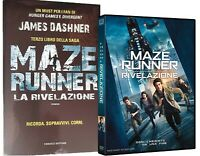 MAZE RUNNER - LA RIVELAZIONE (DVD + LIBRO) TERZO FILM SAGA + LIBRO James Dashne