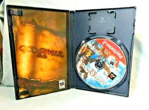 2005 SONY PLAYSTATION 2 GOD OF WAR GREATEST HITS VIDEO GAME USED PS2 MANUAL VGC