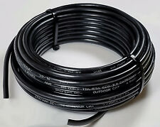 200ft Outdoor Cat6 with Gel tape Direct burial cable 23AWG UV rated & protected