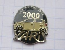 TOYOTA / YARIS / CAR OF THE YEAR 2000 ................... Auto-Pin (114g)