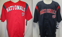 Washington Nationals MLB Men's Button-Up Baseball Jersey