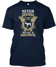Grandma With A Pudelpointer Tees Premium Tee T-Shirt