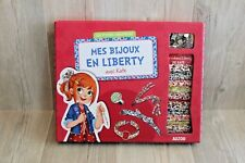 Mes bijoux en liberty avec Kate l'anglaise - création bracelets, loisir créatif