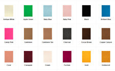 Soft Felt Sheet 1 or 2 mm Various Solid Colors 9x12