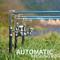 Automatic Telescopic Fishing Rod Sea River Lake Fishing Pole Device Spinning Rod