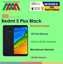 BRAND NEW SEALED FACTORY UNLOCKED XIAOMI REDMI 5 PLUS 64GB BLACK DUAL SIM GLOBAL