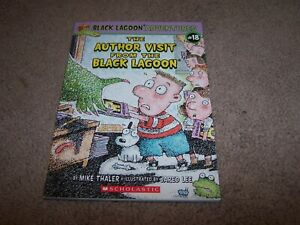 The Author Visit from the Black Lagoon No. 2 by Mike Thaler ~ Paperback