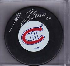 Autographed Guy Lafleur Montreal Canadiens Puck