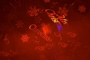 RED/SILVER HOLOGRAM (REVERSABLE) CHRISTMAS FOIL WRAP-NOT SOLD IN STORES ~9 FEET!