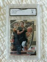 2020 Panini Prizm Draft Picks Lamelo Ball Rookie #3 GMA 9 MINT Hornets RC