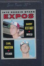 1970 Topps #109 Expos Rookie Stars Jestadt/Morton NM *8193