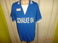 """FC Schalke 04 Original Fan Shop Retro-Nostalgie Trikot 1978/79 """"SCHALKE 04"""" Gr.M"""