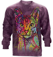 Abyssinian Long Sleeve T-Shirt by The Mountain. Cat Tee S-2XL NEW