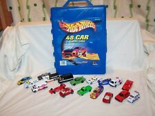 2001 Hot Wheels 48 Car Storage Carry Case By Tara Toy with 18 cars