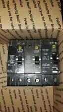 (Lot of 3) Square D Circuit Breakers Edb24100, 24015 and 25020