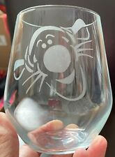Personalised Glass Tigger Stemmed/Stemless **CHECK INFORMATION**