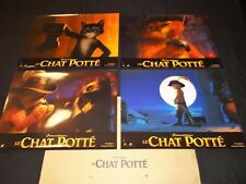 LE CHAT POTTE Puss in Boots   Animation jeu photos cinema  lobby cards