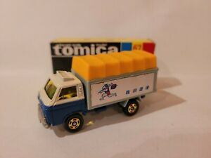 TOMICA 67 - NISSAN CARBALL PANEL TRUCK [BLUE] MINT VTHF BOX GREAT MADE IN JAPAN