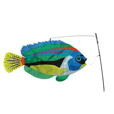 Peacock Wrasse Fish Staked Wind Bobber..15..... PR 26511