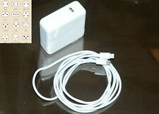 Original A1718 61W USB-C Ladegerät Adapter für Apple Macbook pro 33cm 2M Kabel