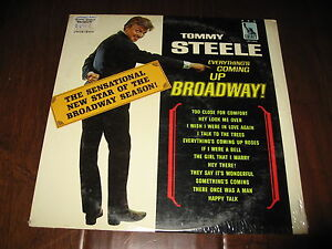 Tommy Steele Everything's Coming Up Broadway SEALED Record lp Liberty Theatre