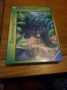 Ravensburger 1000 piece jigsaw puzzle On The Prowl Black Panther