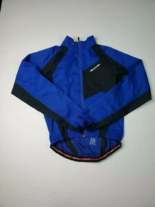 Specialized Men's Hybrid Cycling Jacket Navy Size Small Vented Removable Sleeves