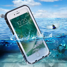 For Apple iPhone 7 Waterproof Case Full-body Rugged Cover White