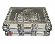 Aluminum Antique Taj Mahal Design Handmade Jewelry Box