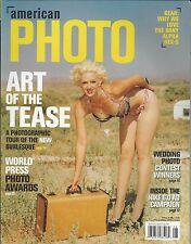 American Photo magazine Art of the tease Wedding photo contest winners Gear