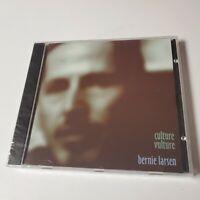 NEW Bernie Larsen Culture Vulture CD Spinout 1996 1997 Folk Rock Berntmusic CA