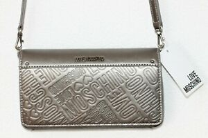 Love Moschino Shoulder Bag Silver New with Label