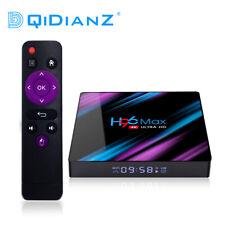H96 Max Android 9.0 Quad Core 4K HD 2.4G/5G WiFi BT4.0 lecteur Multimédia TV BOX