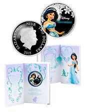 2015 Niue $2 1 Oz Silver Disney Princess Jasmine Proof Coin In OGP SKU37106