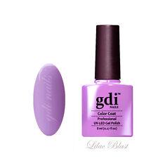 GDI Nails UV LED Soak off GEL Nail Polish Varnish F44 - Lilac Blast