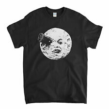 Georges Melies T Shirt A Trip To The Moon Vintage Silent Classic Film T-shirt