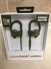 Beats Powerbeats3 Wireless Earphones Neighborhood Collection Turf Green NIB