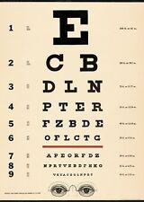 Cavallini eye chart plate wrap