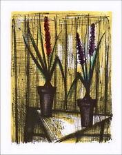 Bernard BUFFET - Lithographie : Les Jacinthes - Mourlot 1967