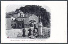 AREZZO CHIUSI DELLA VERNA 18 CASENTINO - CONVENTO SANTUARIO - FRATI Cartolina