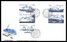 SWEDEN - SVEZIA - 1974 - Navi mercantili