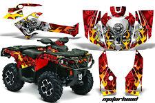 Can Am AMR Racing Graphics Sticker Kits ATV CanAm Outlander SST Decals 2012 MHED