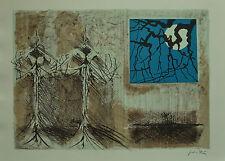 CESARE PEVERELLI litografia STUDIO 50x70 firmata numerata 7/99 la Spirale