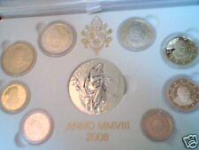 BE VATICAN 2008 8 vraies pièces EURO Vatikan Vaticano