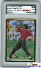 1997 Legends Tiger Woods RC-1997 Masters Pro 9.0 MINT!