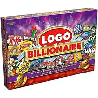 NEW & SEALED Logo Billionaire Fast Paced Family Board Game of Risky Business