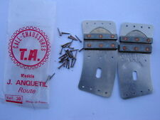 T A JAQUES ANQUETIL ROUTE CLEATS EARLY 70'S - NOS - NIP