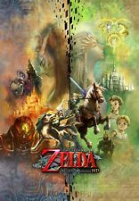 Poster A3 The Legend of Zelda Twilight Princess Link Videojuego Videogame 01