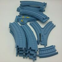 Thomas Trackmaster 13 Track Piece Curved Switch Turnoff Risky Rails Bridge Drop