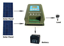 Eco 40A Mppt Solar Panel Power Charge Controller Battery Regulator Lcd Display